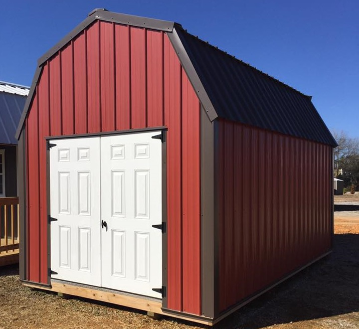 Lofted Red Shed